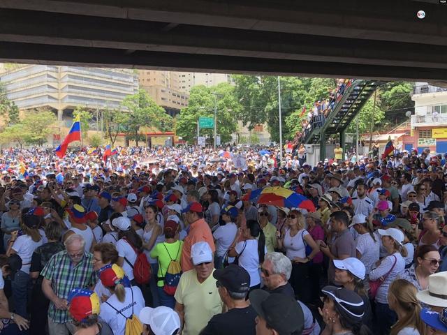 "Protests in Venezuela on May 1st, ""Operación libertad"""
