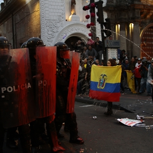 Protests against economic austerity met with repression in Ecuador
