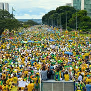 Wave of anti-government protests met with police repression in Brazil