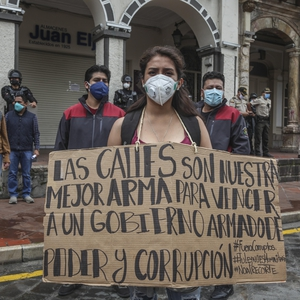 Austerity measures during COVID-19 lead to protests in Ecuador