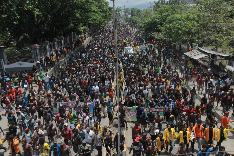 West Papuan protests met with internet shutdown, arrests of activists and excessive force