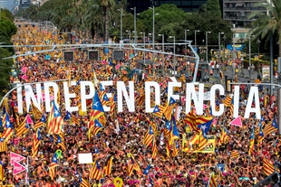 Millions Rally in Support of Catalonian Independence