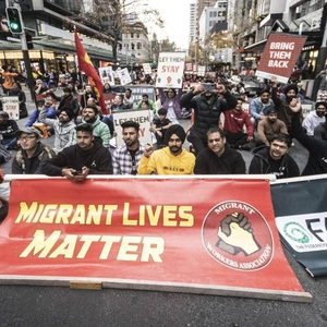 Protests against immigration policies and new environmental regulations in New Zealand