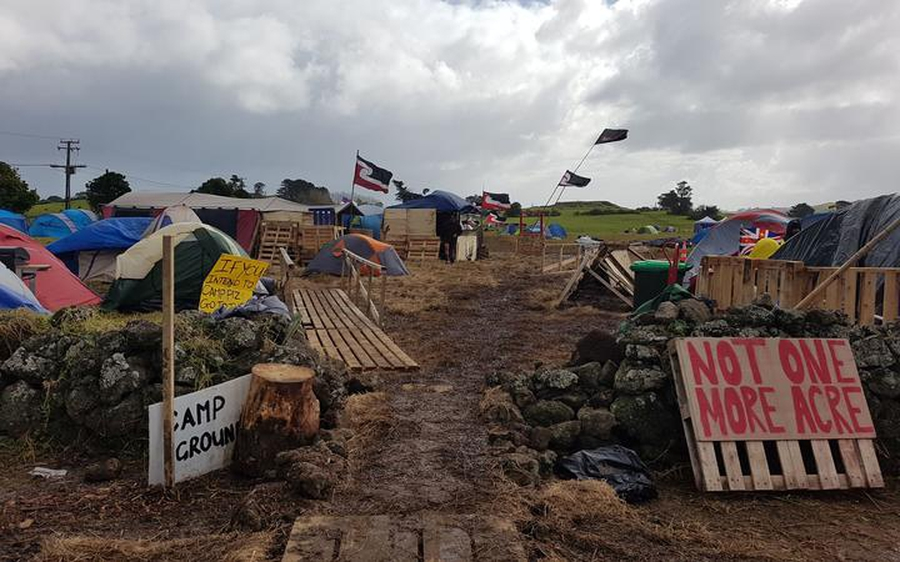 Indigenous activists in NZ continue struggle to block development at Ihumātao