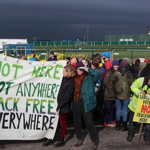 Fracking protestors jail sentence overturned on appeal