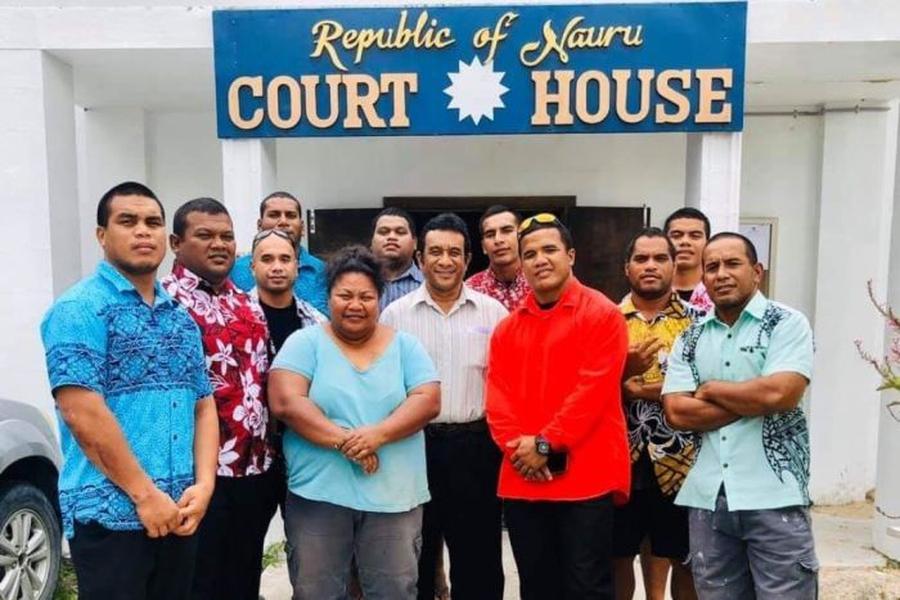 Despite political change in Nauru, judiciary convicts 2015 protesters