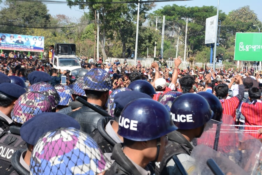Protesters in Myanmar face arbitrary arrest, prosecution and excessive force
