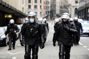 Protests against racial and classist injustice face excessive and racialised policing