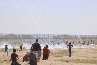 Civic space in Gaza under severe restriction by both external and internal security forces