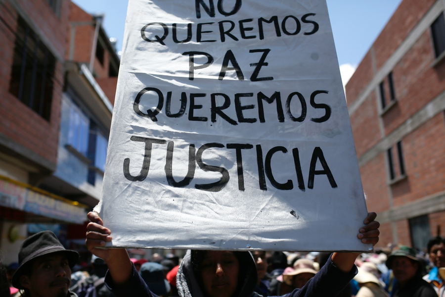 Violent protests and alleged extrajudicial executions in Bolivia as political crisis escalated