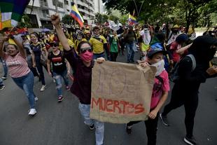 Colombia: se cumplen cuatro meses desde el inicio del paro nacional