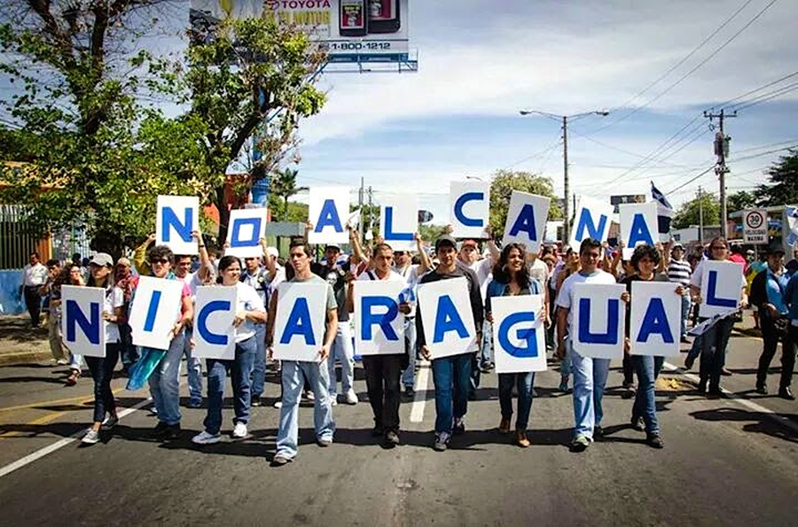 Protests against building of the Great Canal continue in Nicaragua
