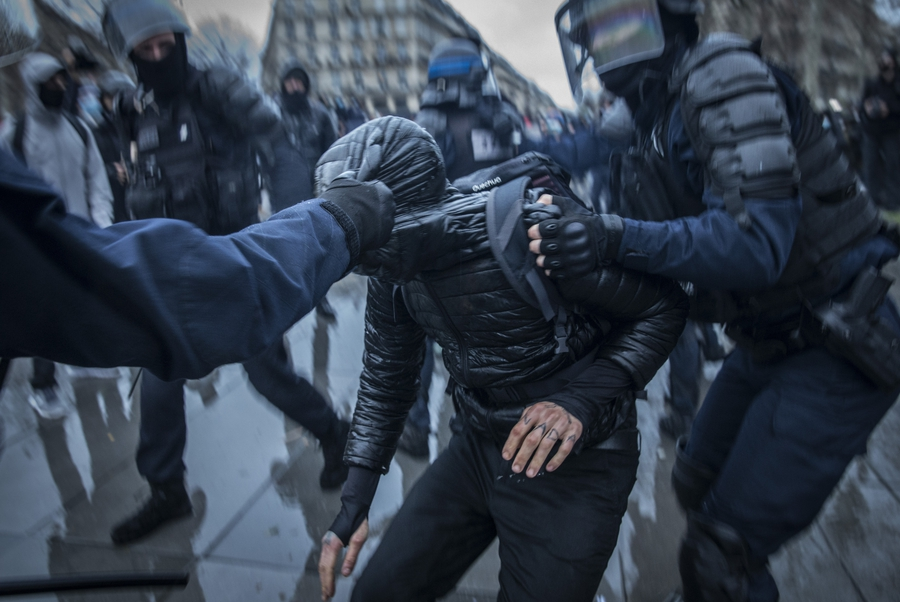 Worsening crackdown on civic space by Macron's government to preserve 'republican values'