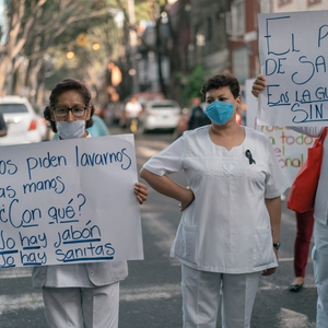 Calls for more PPE and testing amid coronavirus outbreak in Mexico