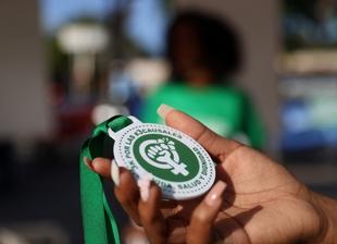 República Dominicana: grupos feministas instalan un campamento de protesta
