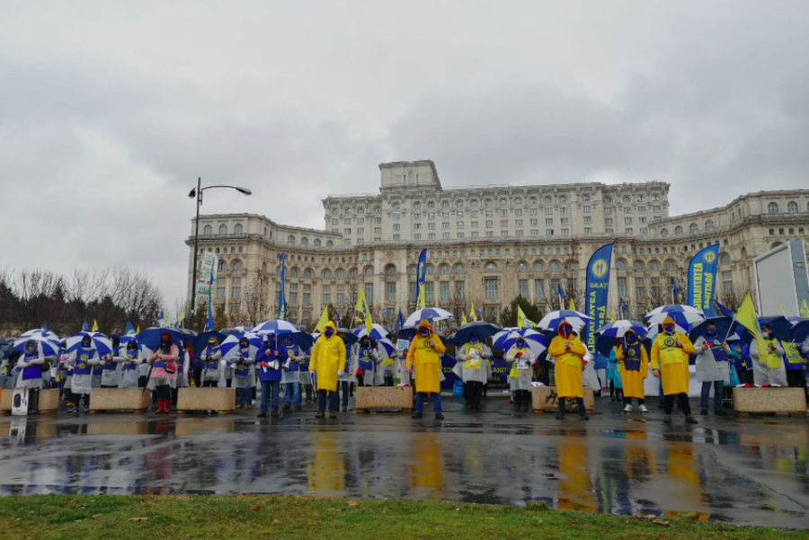 Protests over COVID-19 measures, debates about new legislation on whistleblowers