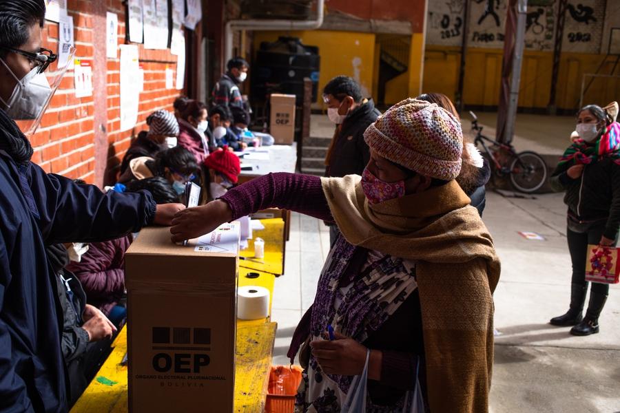 Continúa la polarización tras las elecciones presidenciales en Bolivia