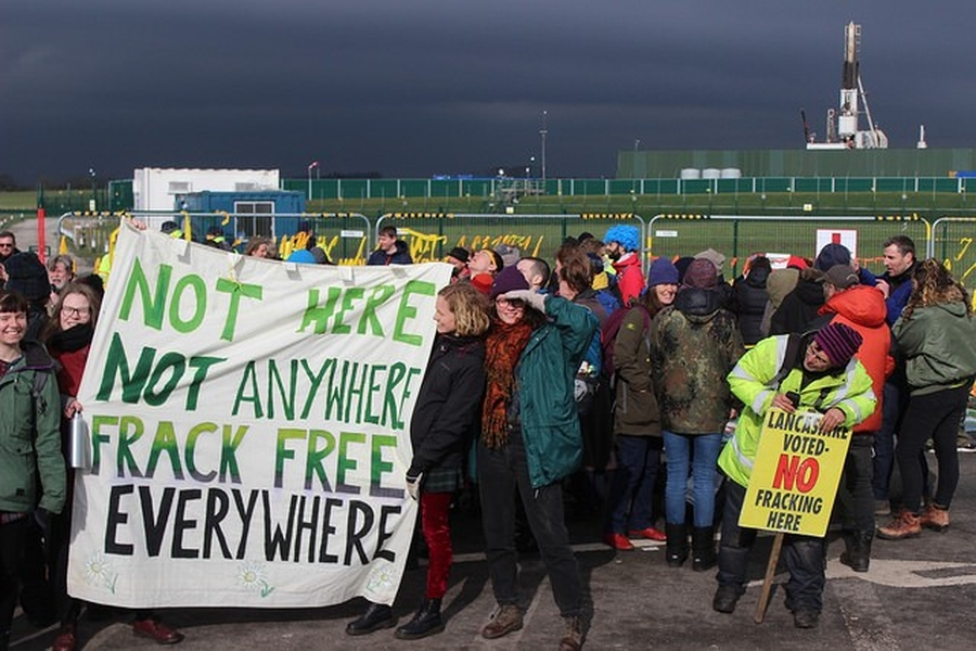 Two important victories for anti-fracking protestors