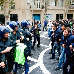Authorities use force to disperse protests, harass journalists